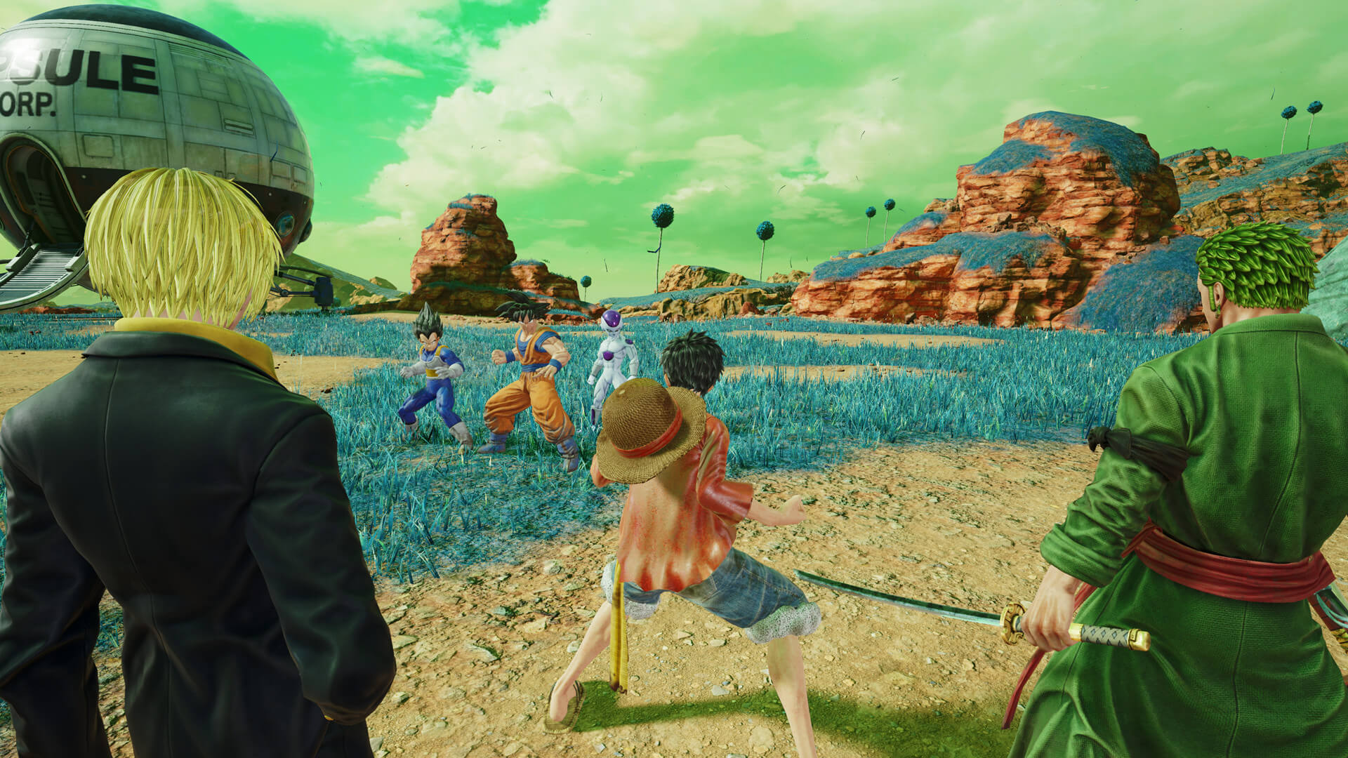 Скриншот из игры Jump Force - Ultimate Edition