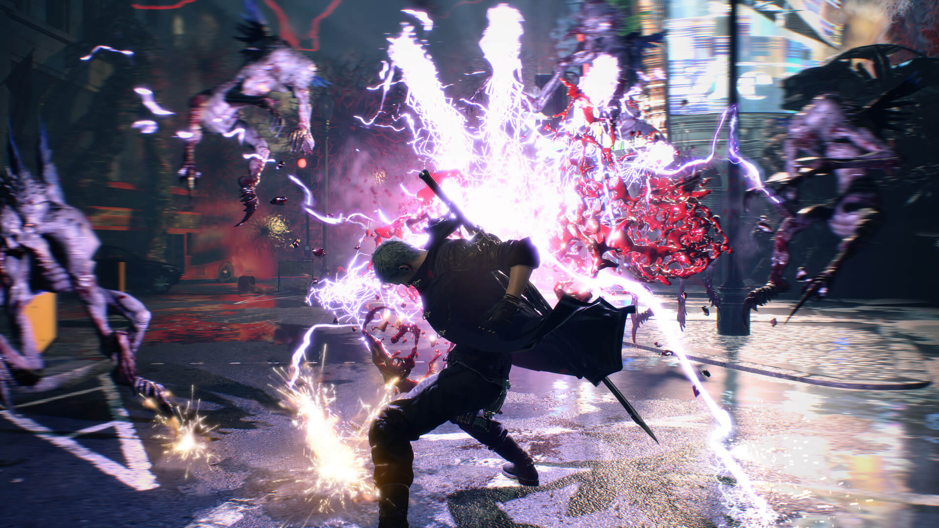 Скриншот из игры Devil May Cry 5: Deluxe Edition