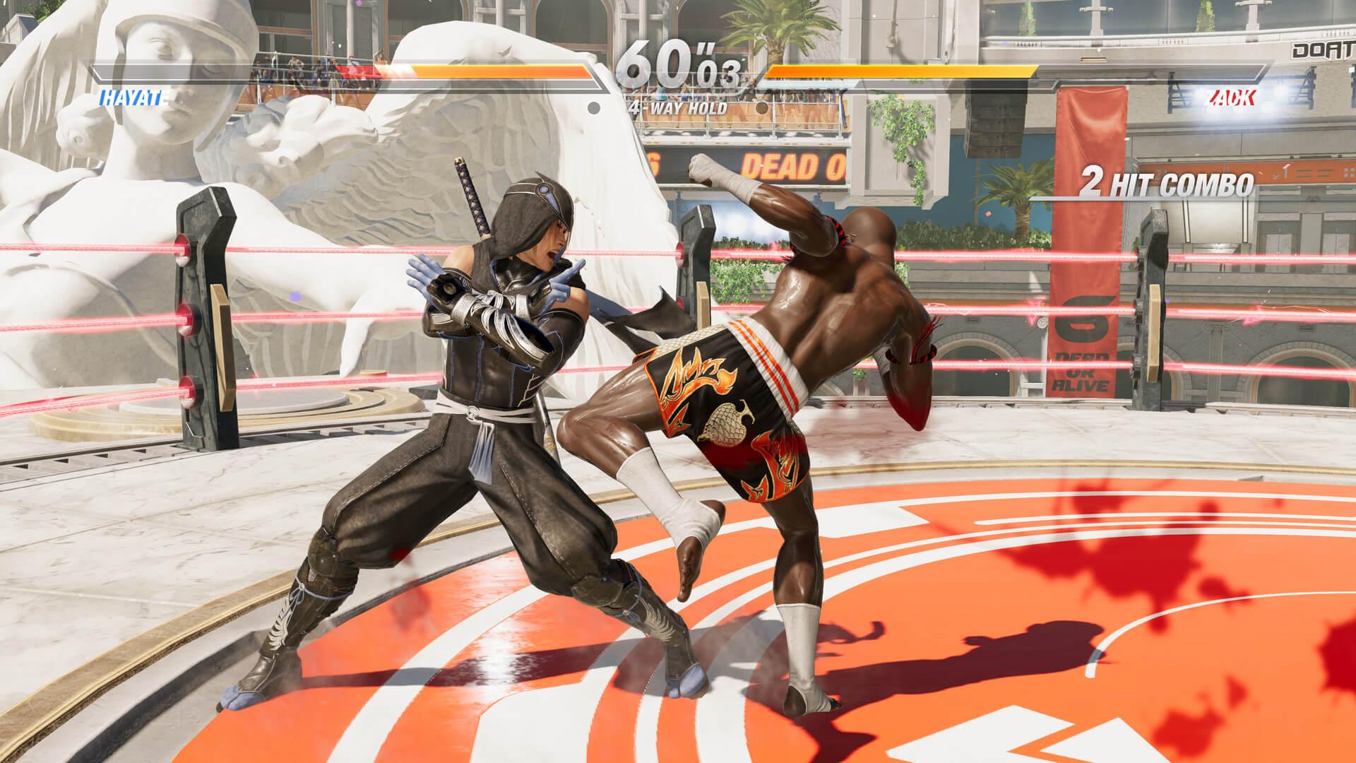 Скриншот из игры Dead or Alive 6