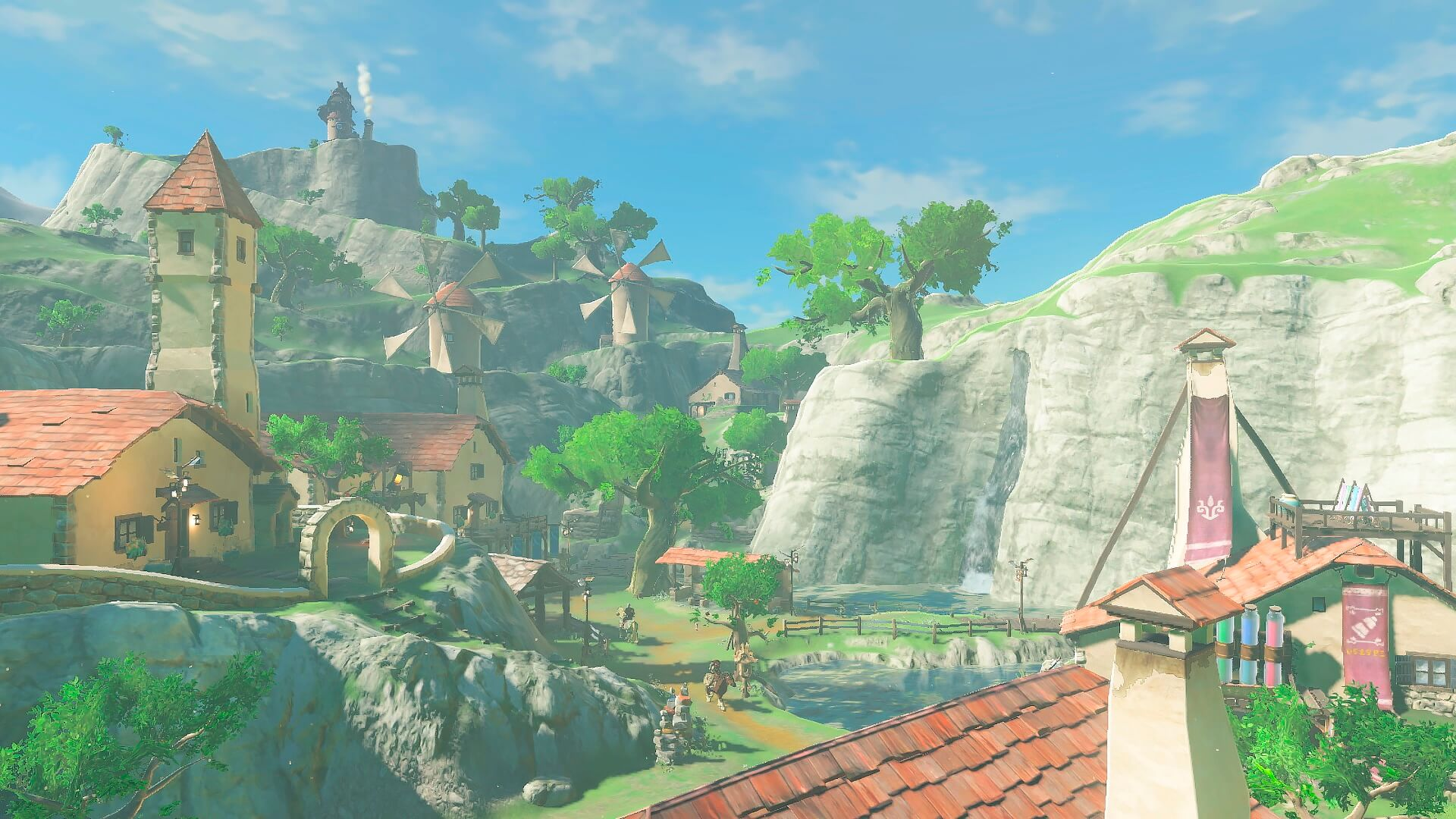Скриншот из игры The Legend of Zelda: Breath of the Wild