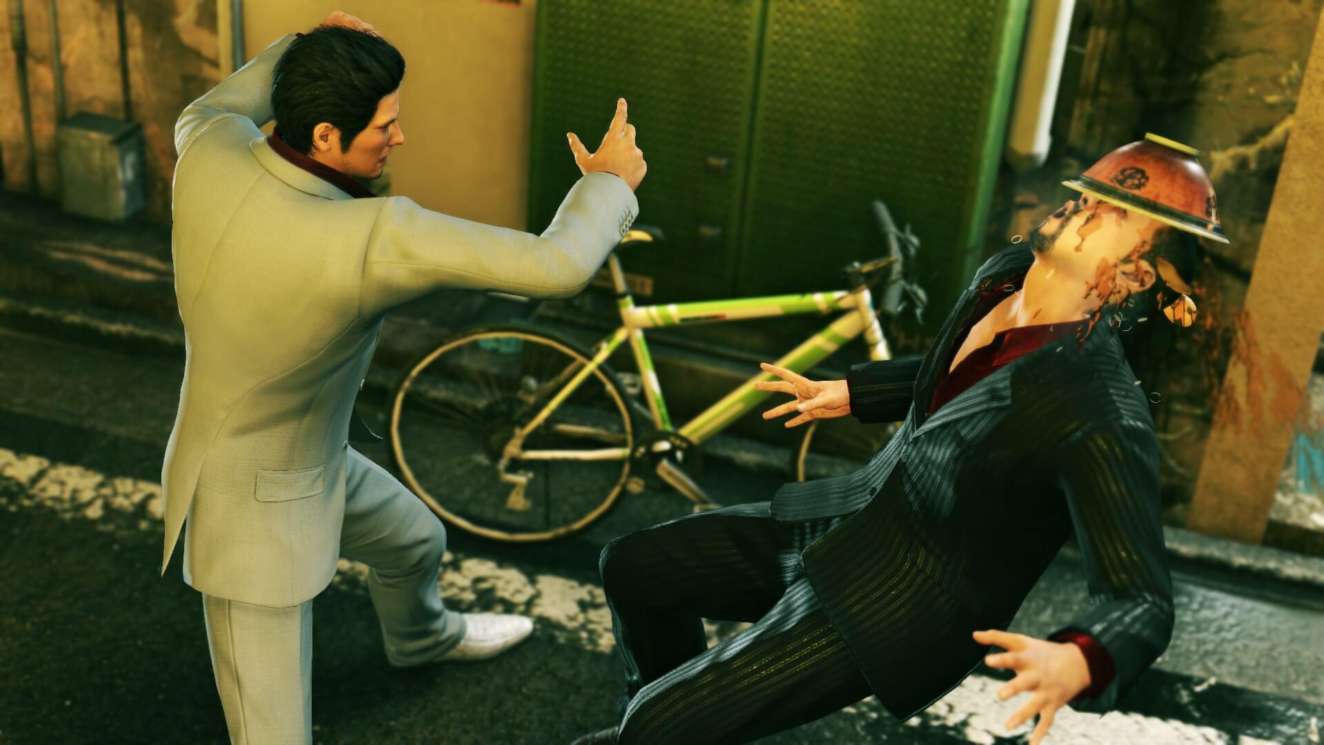 Скриншот из игры Yakuza Kiwami 2