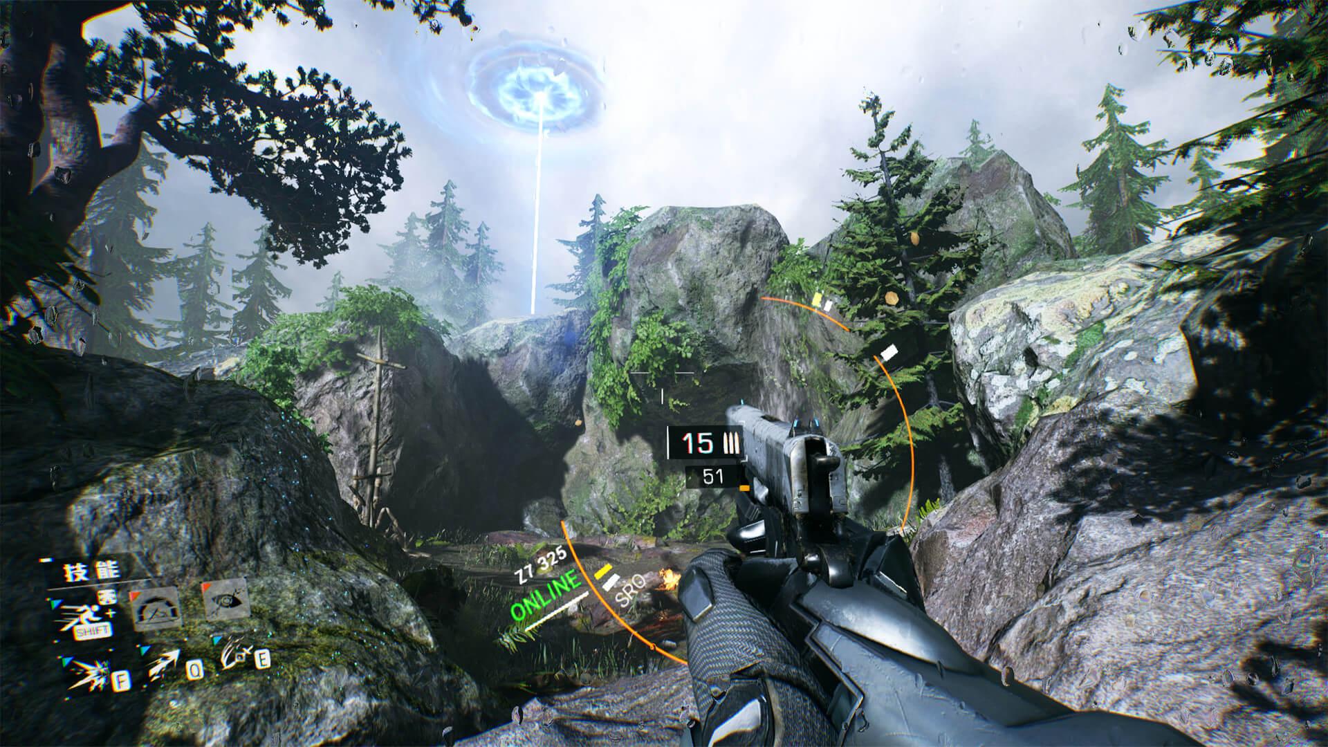 Скриншот из игры Bright Memory