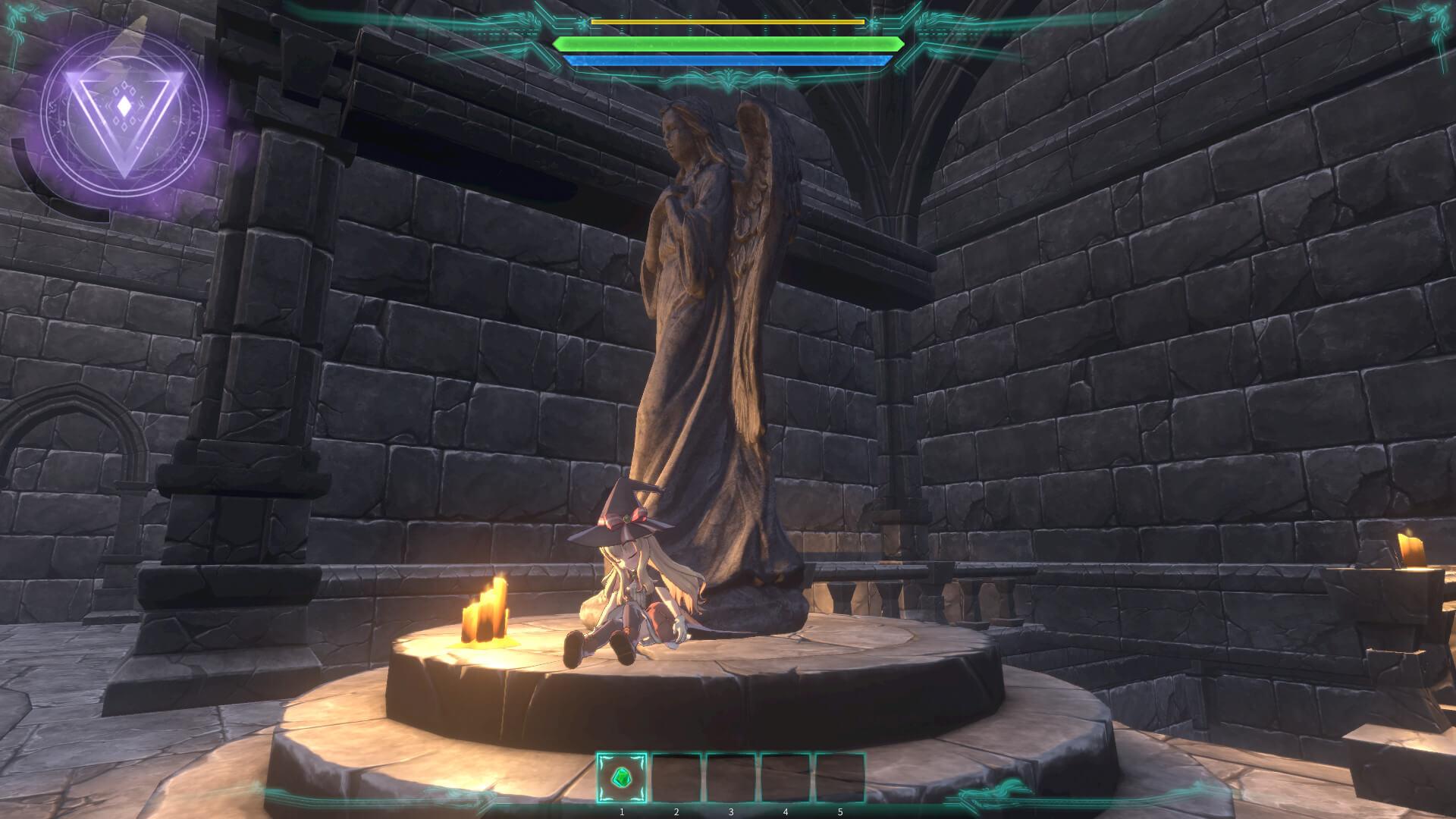 Скриншот из игры Little Witch Nobeta