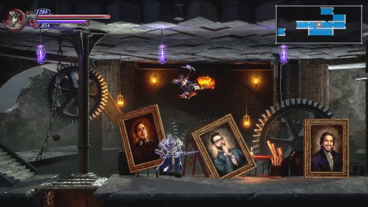 Скриншот из игры Bloodstained: Ritual of the Night