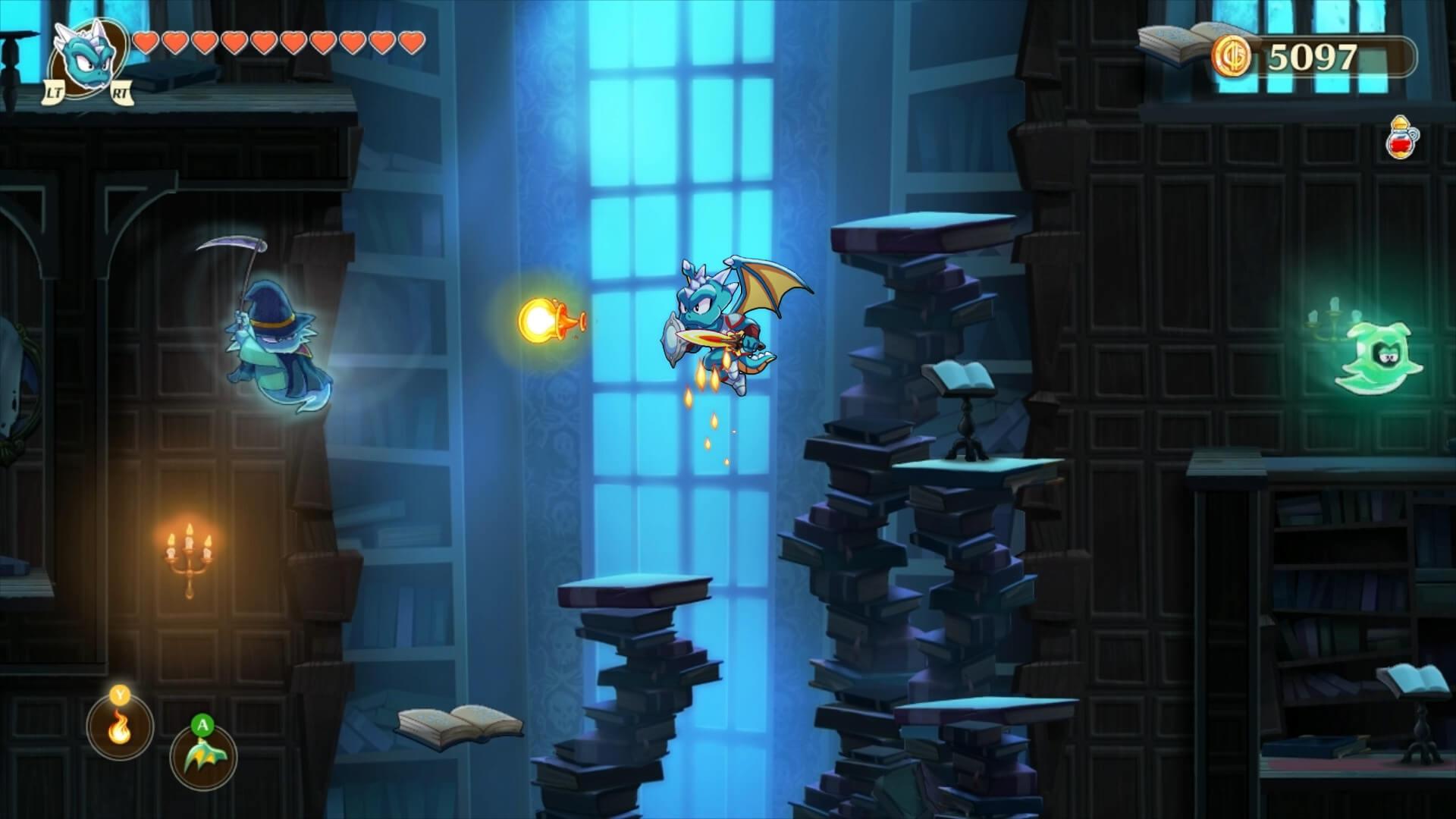 Скриншот из игры Monster Boy and the Cursed Kingdom