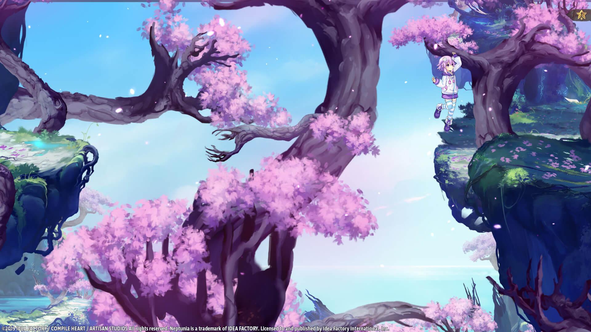 Скриншот из игры Super Neptunia RPG