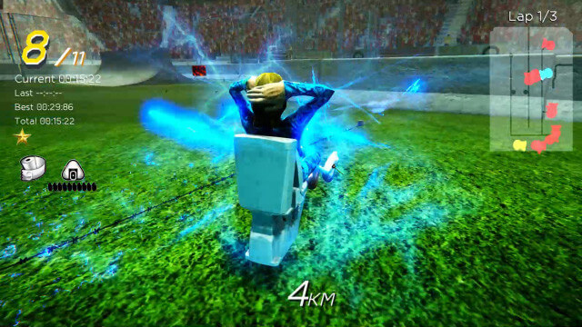 Скриншот из игры Gekisou! Benza Race -Toilet Shooting Star-