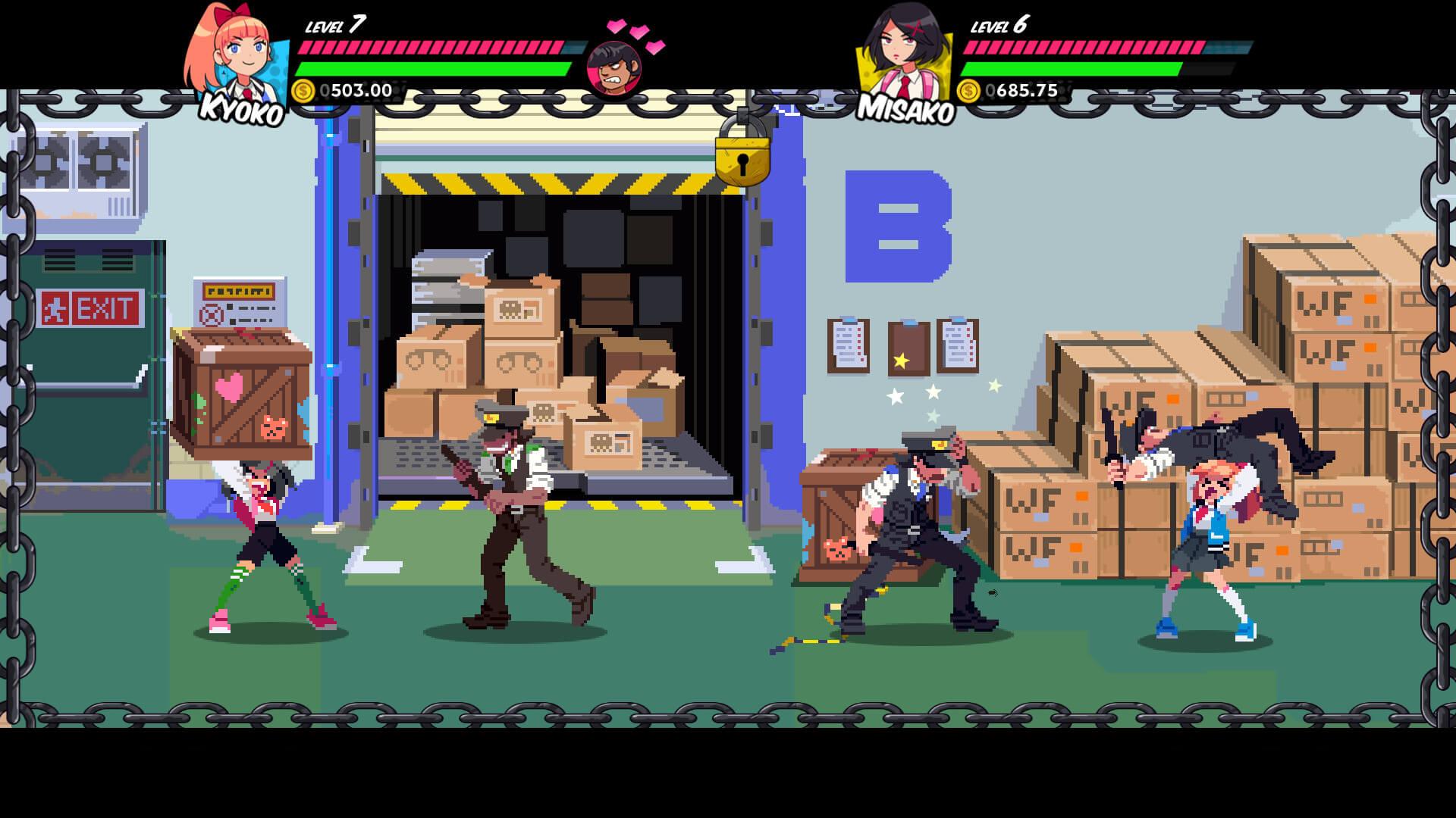 Скриншот из игры River City Girls