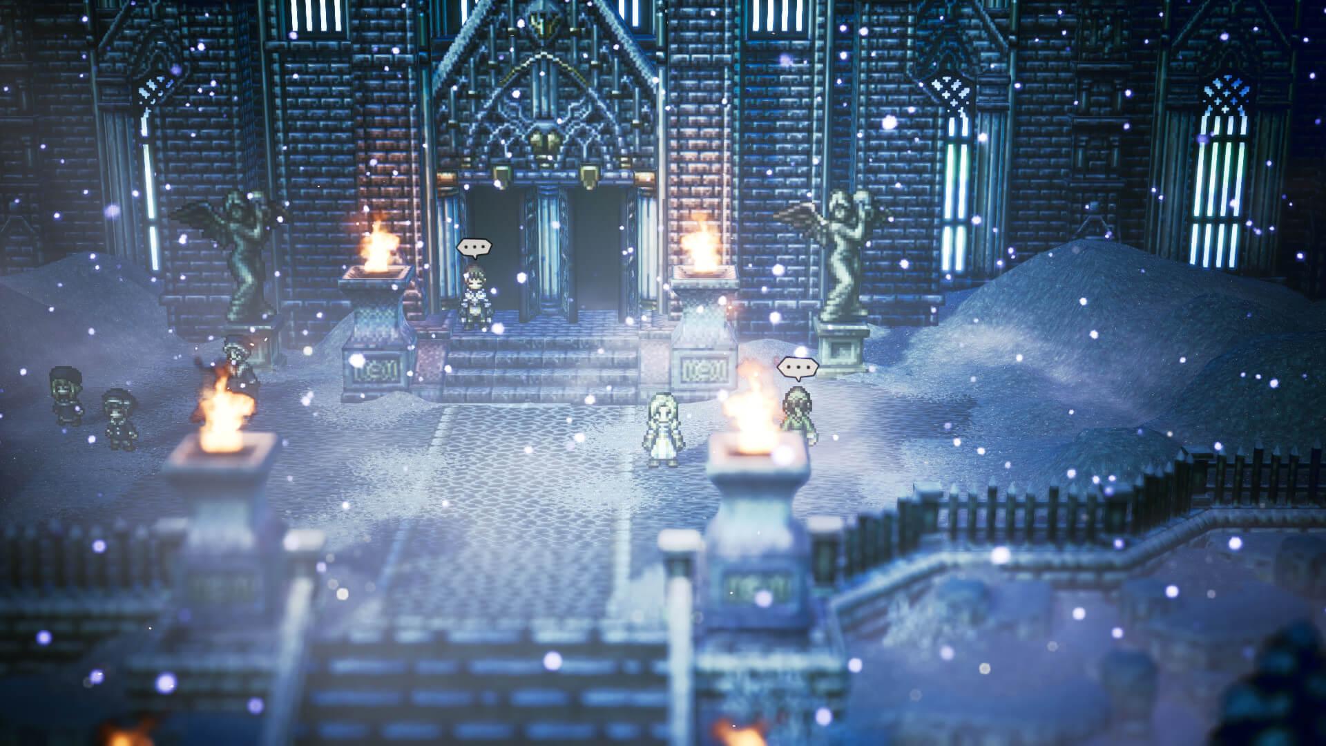 Скриншот из игры OCTOPATH TRAVELER