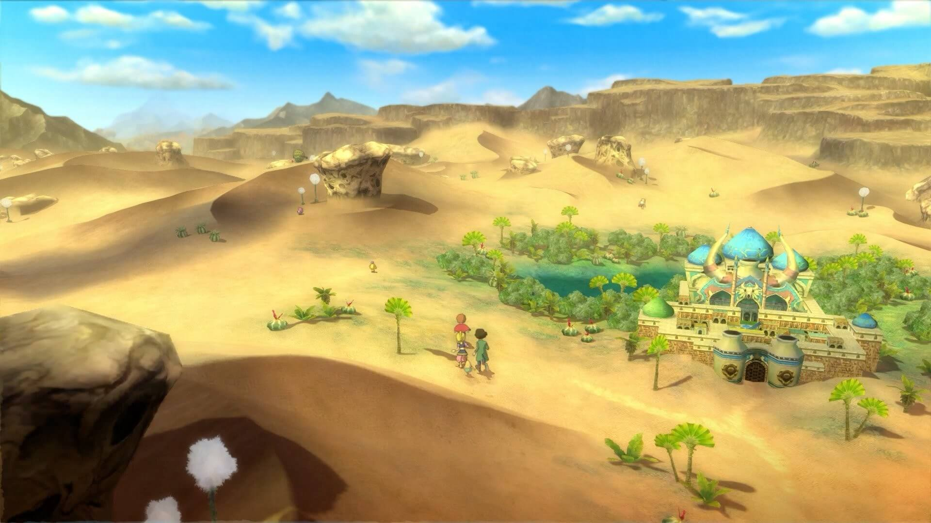 Скриншот из игры Ni no Kuni Wrath of the White Witch - Remastered