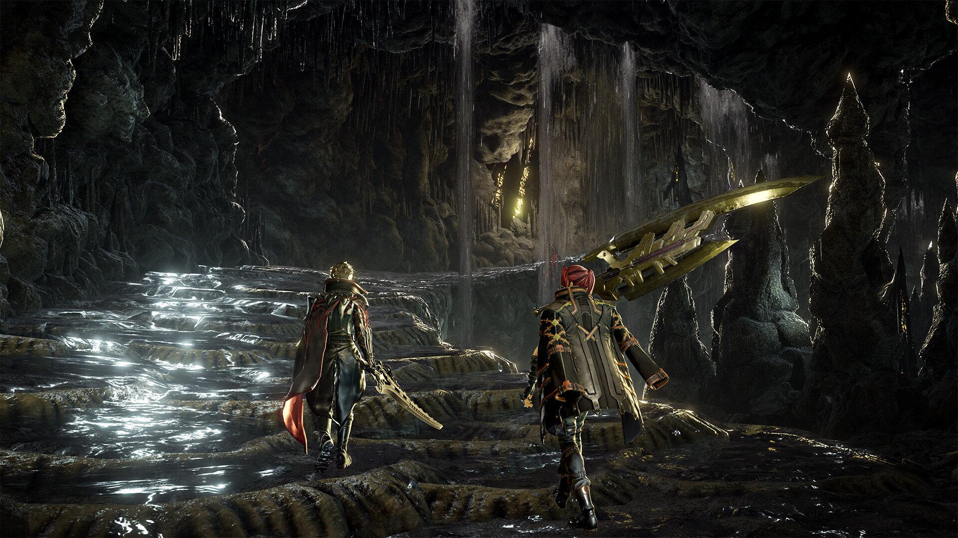 Скриншот из игры CODE VEIN