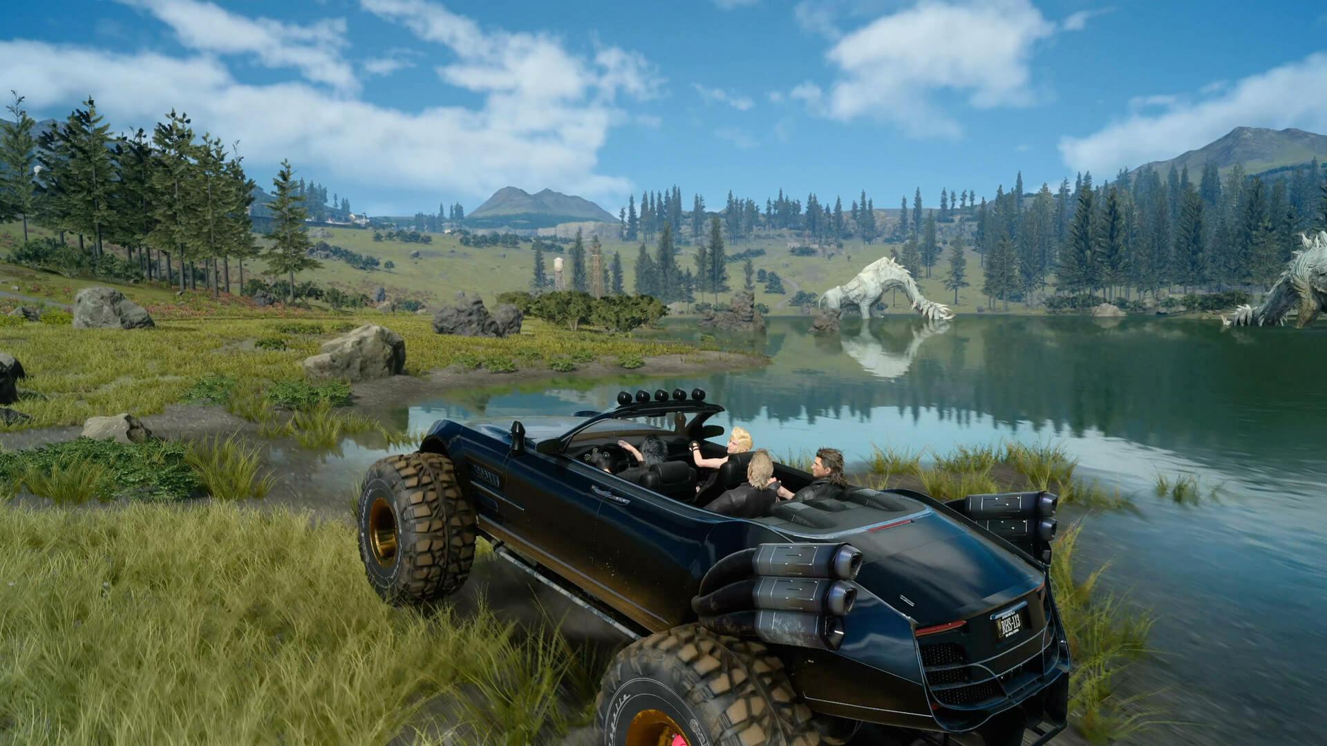 Скриншот из игры FINAL FANTASY XV WINDOWS EDITION