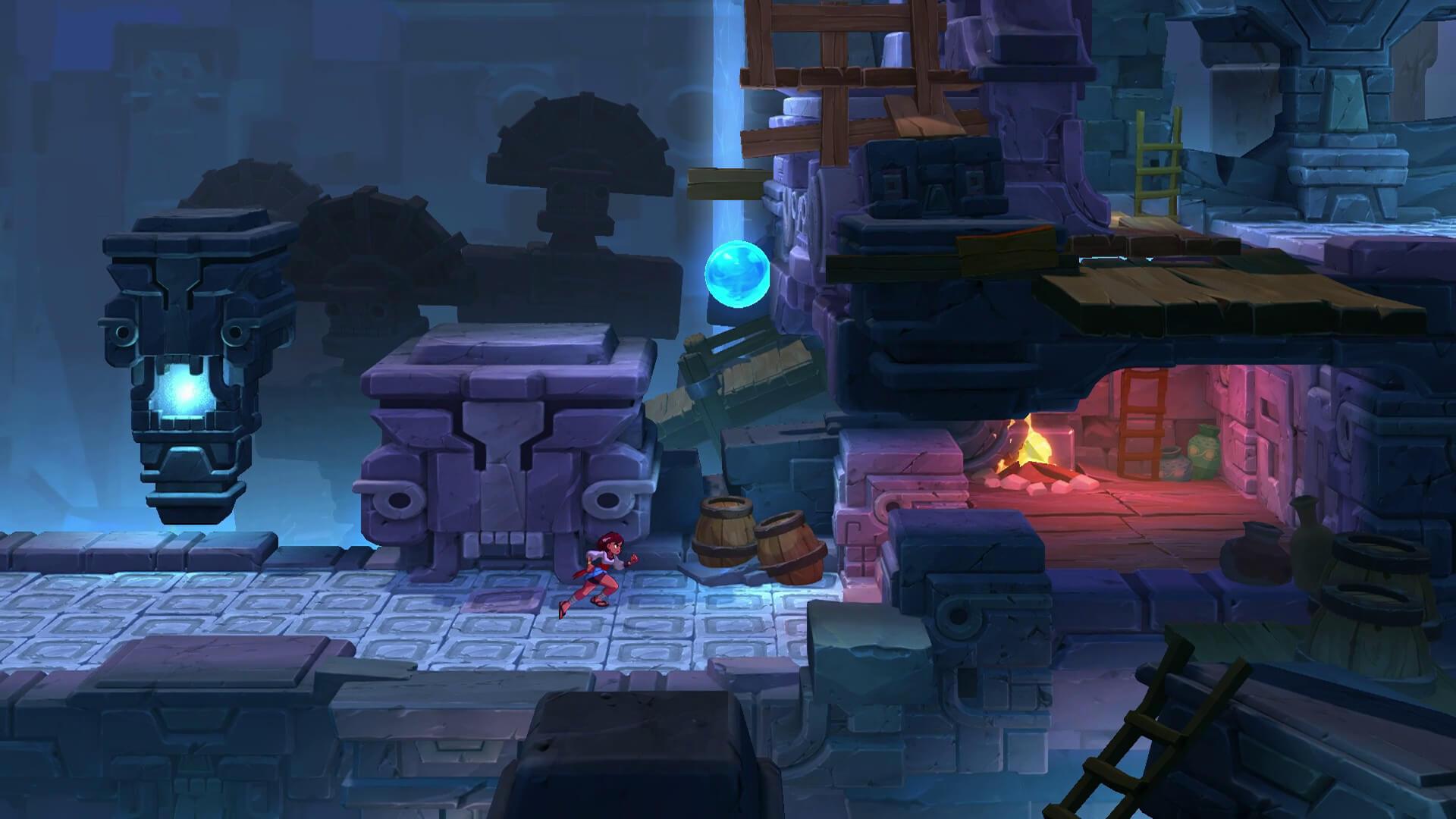 Скриншот из игры Indivisible