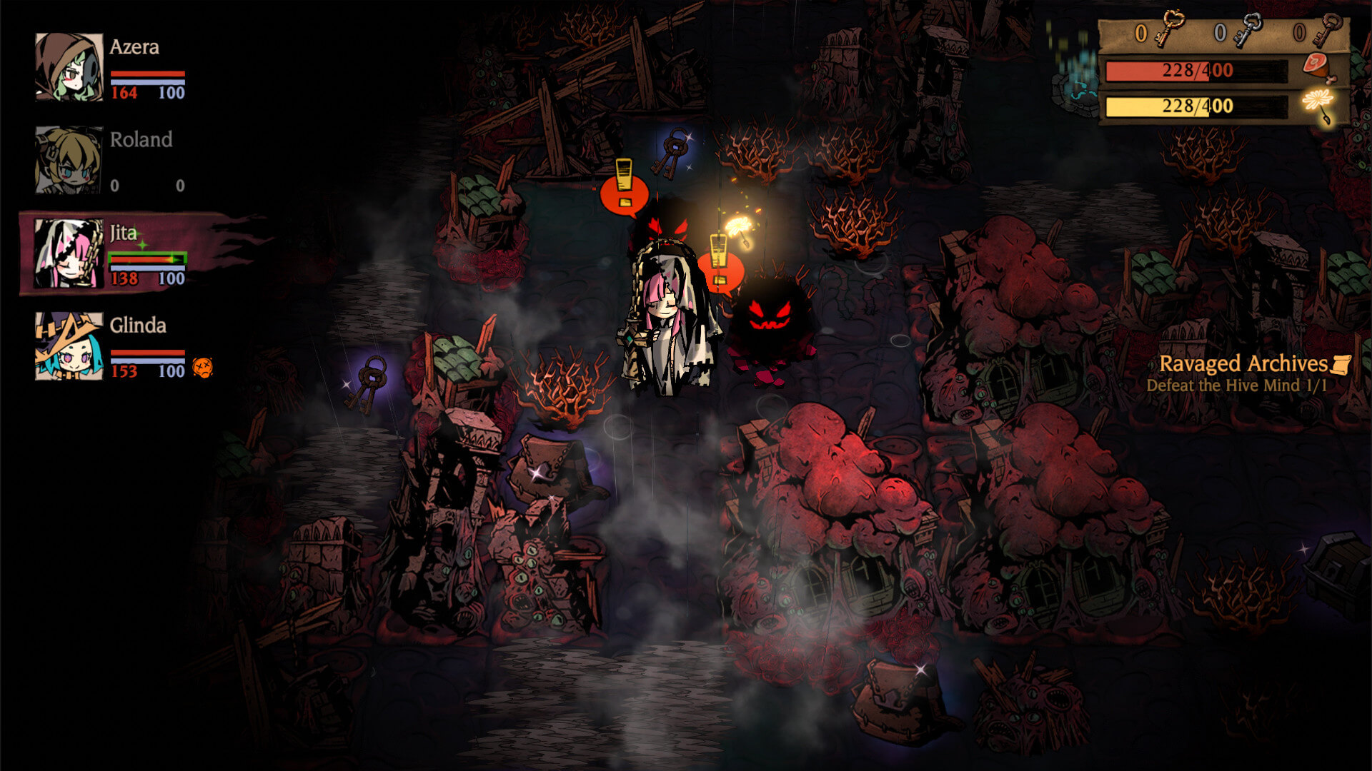 Скриншот из игры MISTOVER