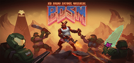 Скачать игру BDSM Big Drunk Satanic Massacre на ПК бесплатно