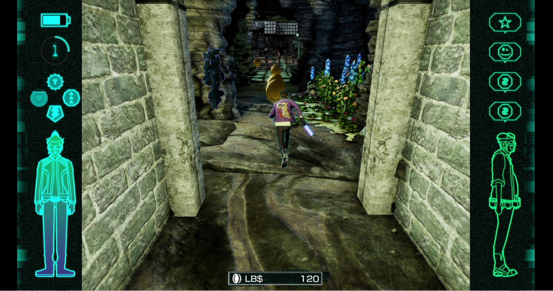 Скриншот из игры Travis Strikes Again: No More Heroes Complete Edition