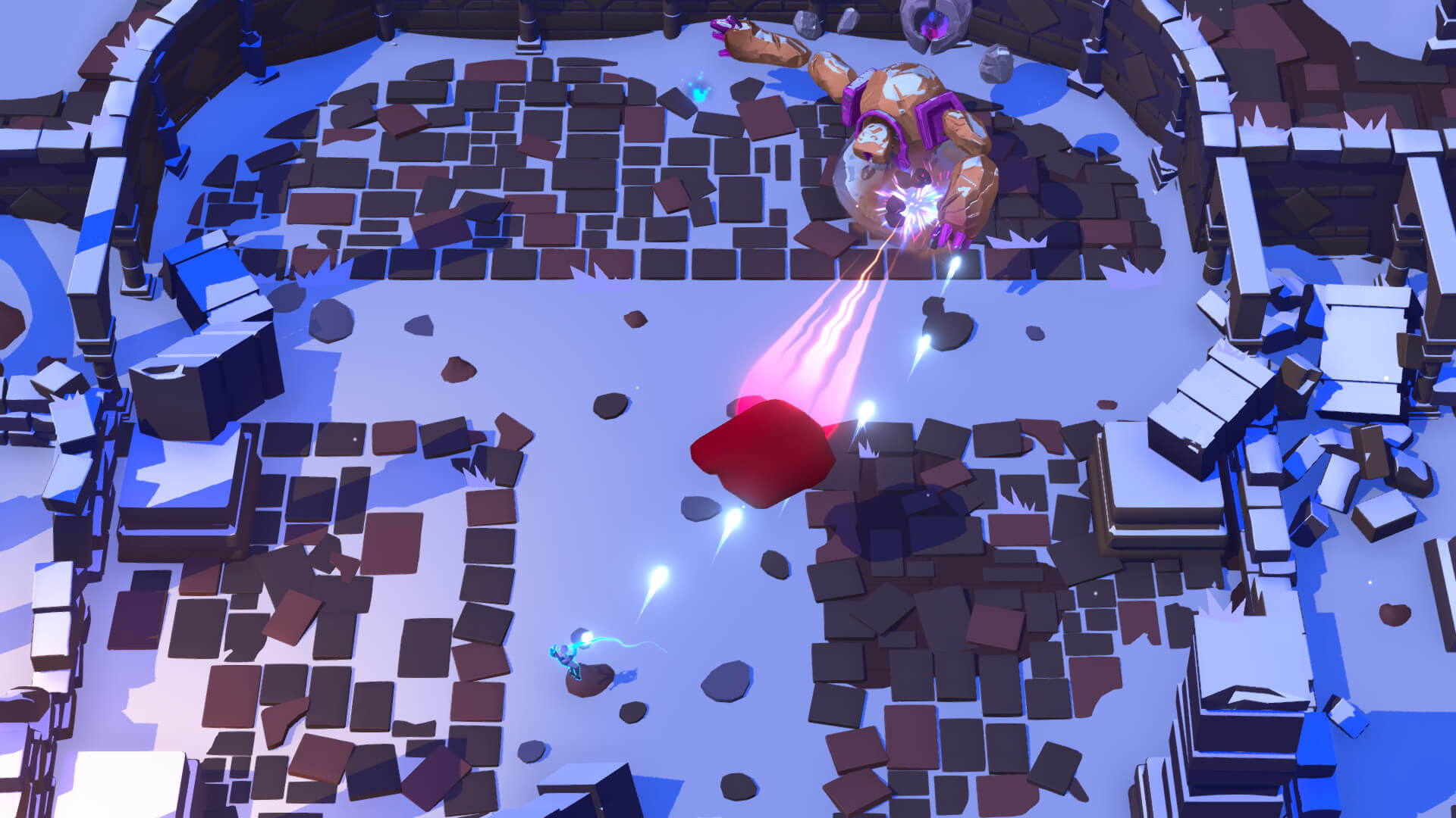 Скриншот из игры Profane