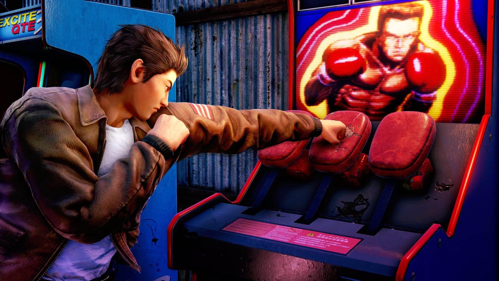 Скриншот из игры Shenmue III
