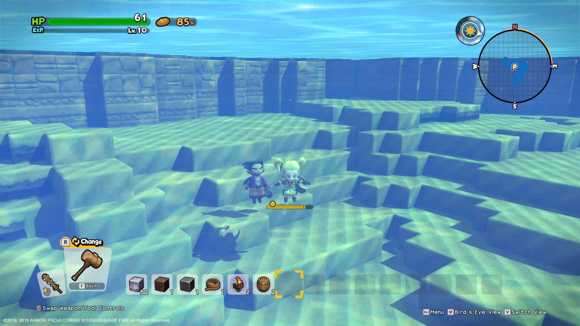 Скриншот из игры Dragon Quest Builders 2