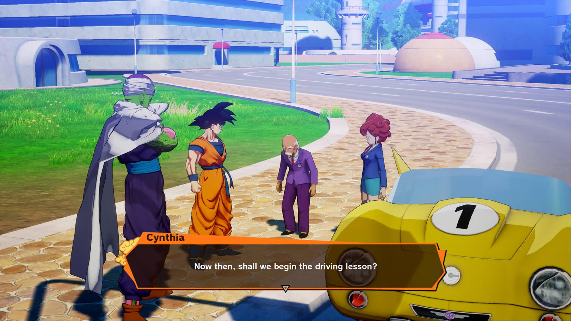 Скриншот из игры DRAGON BALL Z: KAKAROT