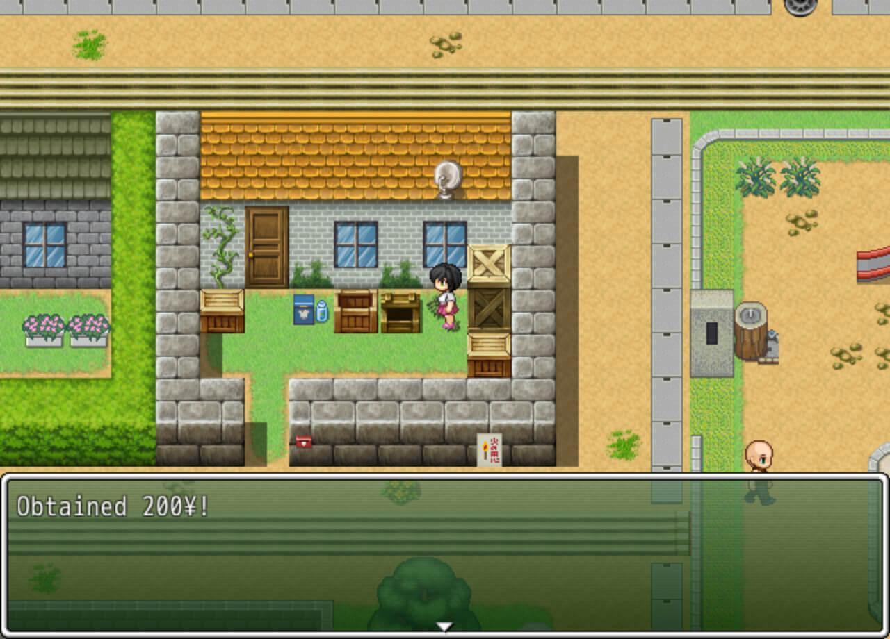 Скриншот из игры Country Girl Keiko