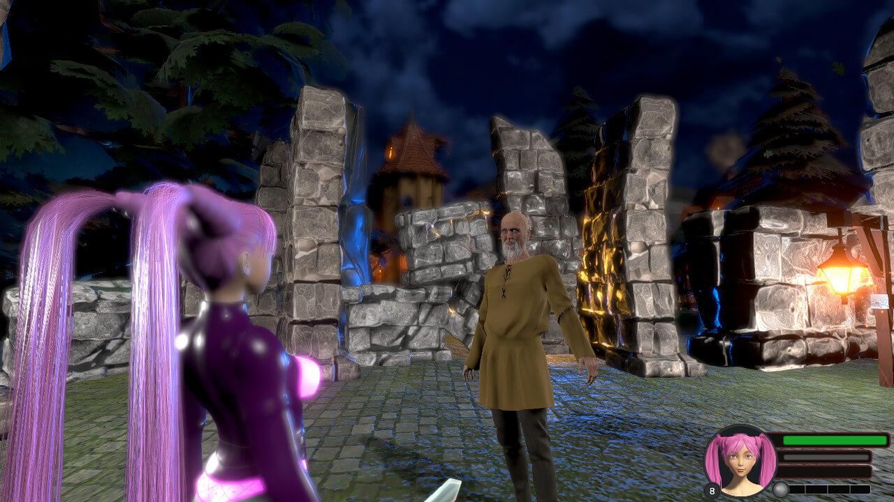 Скриншот из игры Lilly Knight and the Three Cities of Lust