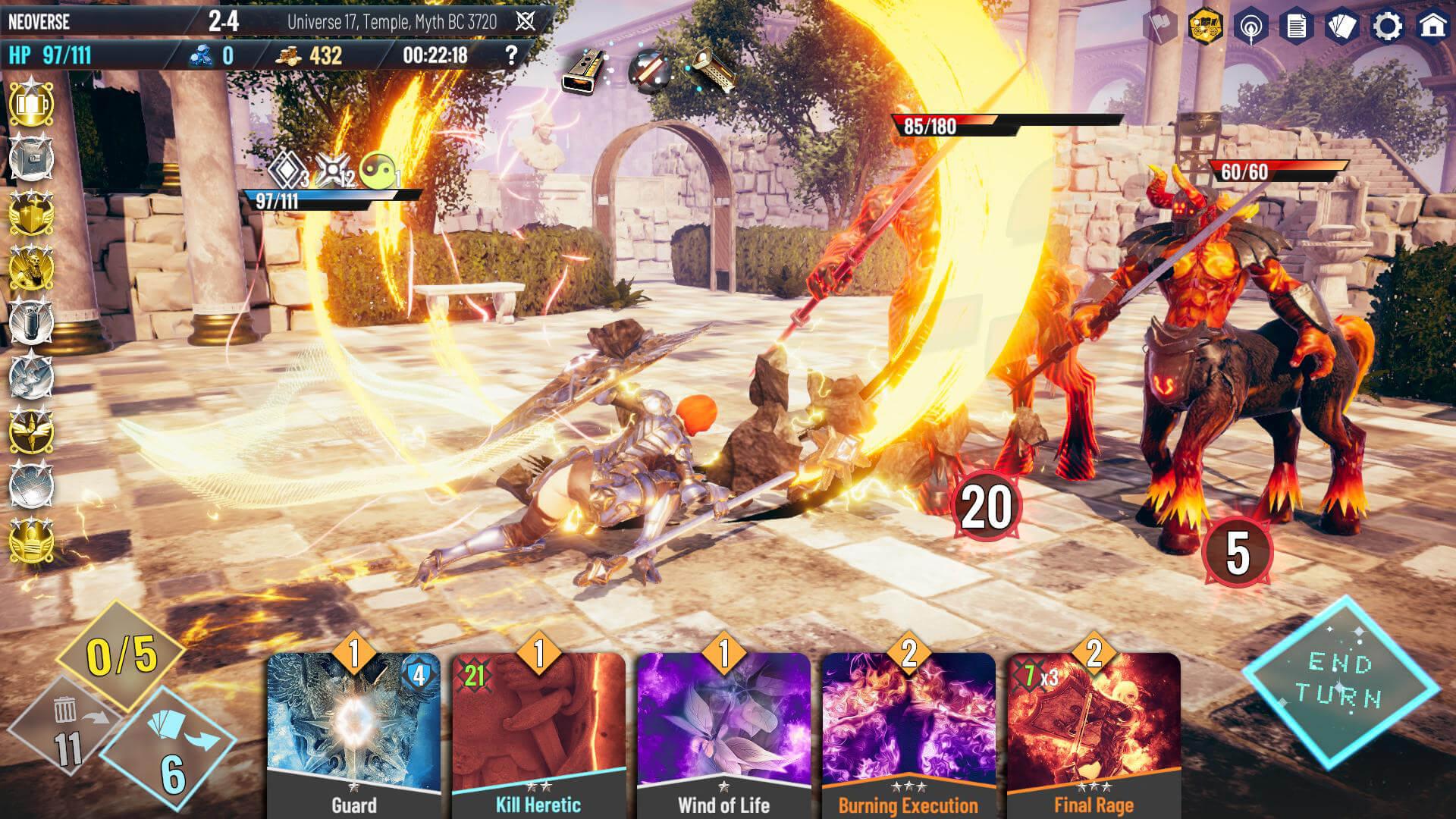 Скриншот из игры NEOVERSE