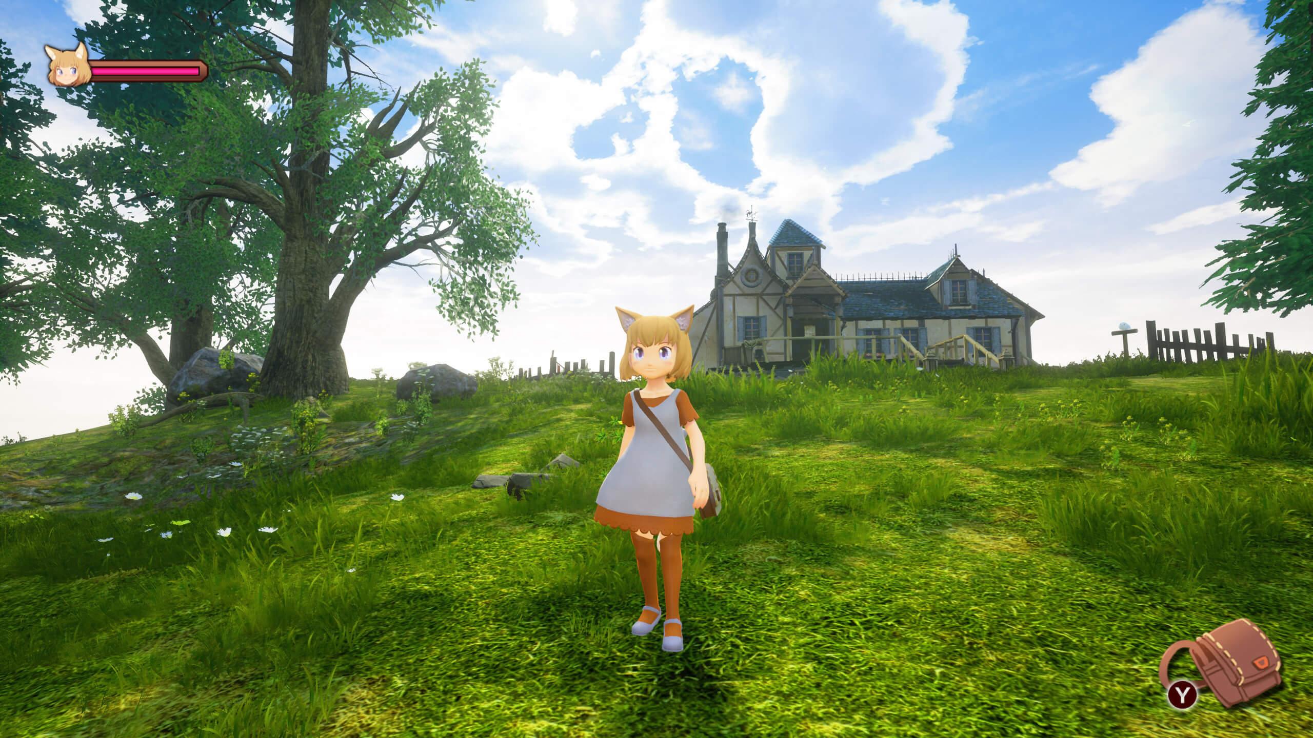 Скриншот из игры Giraffe and Annika
