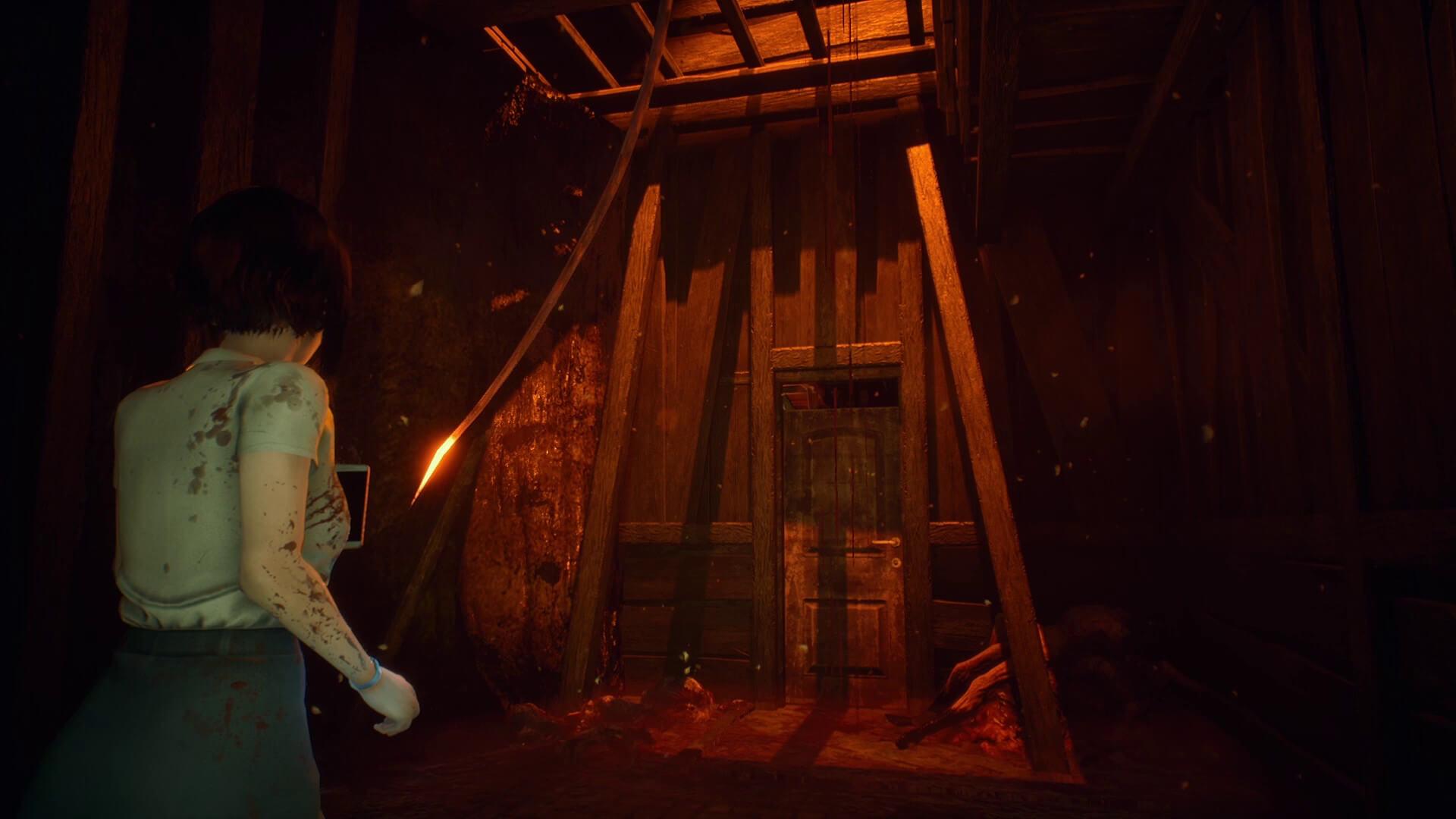 Скриншот из игры DreadOut 2
