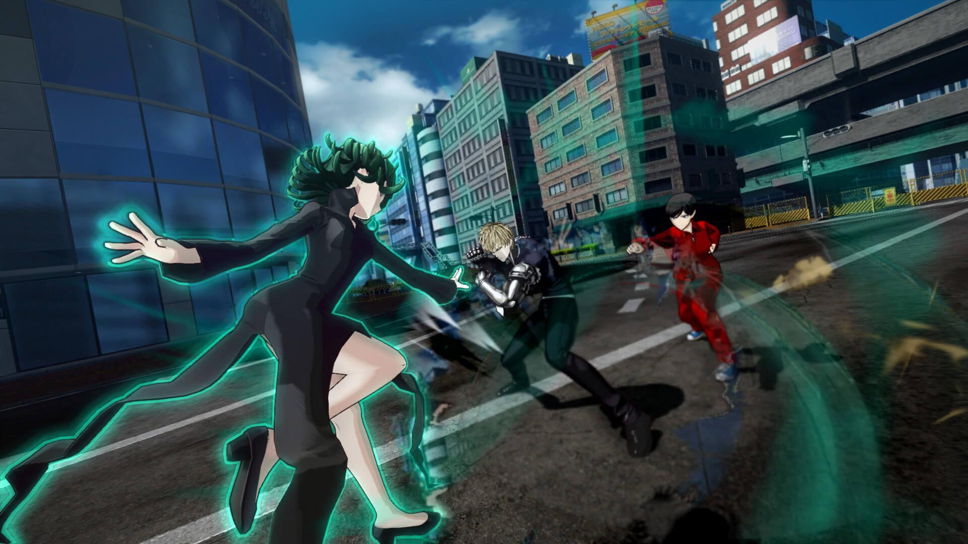 Скриншот из игры ONE PUNCH MAN: A HERO NOBODY KNOWS