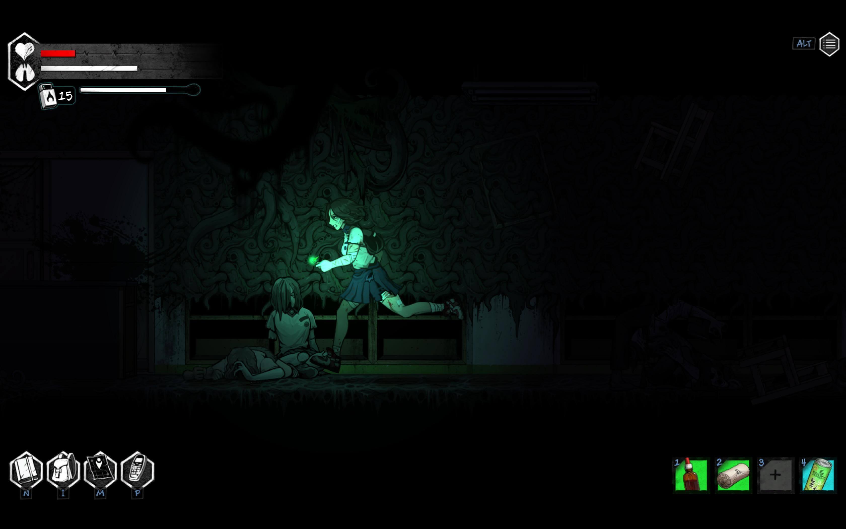 Скриншот из игры The Coma 2: Vicious Sisters