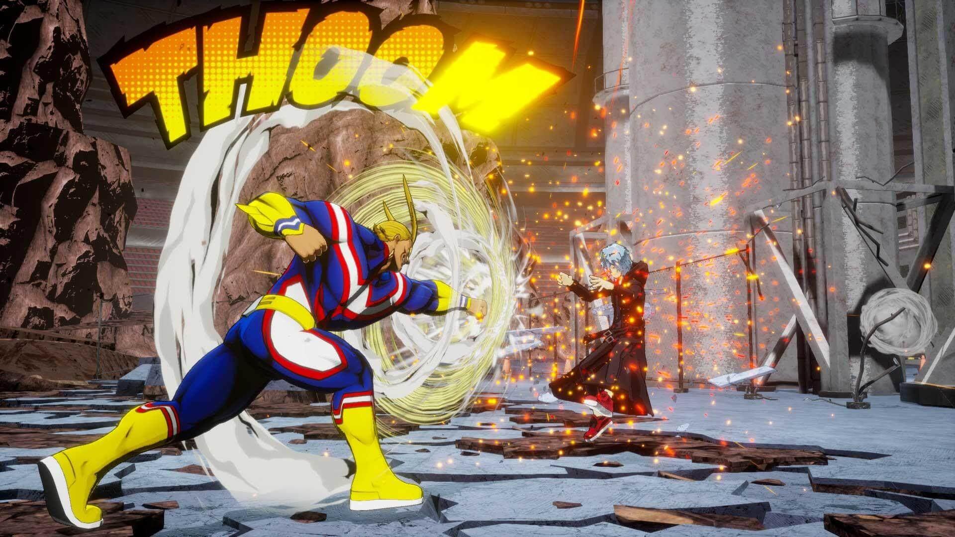 Скриншот из игры MY HERO ONE'S JUSTICE 2