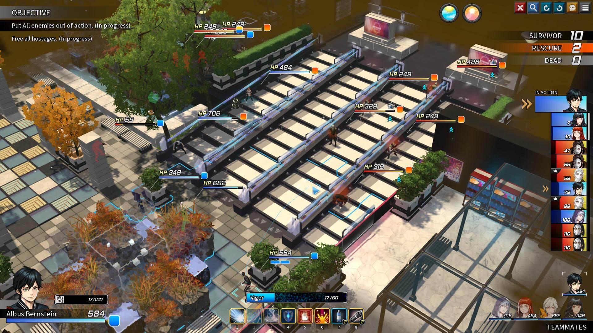 Скриншот из игры TROUBLESHOOTER: Abandoned Children