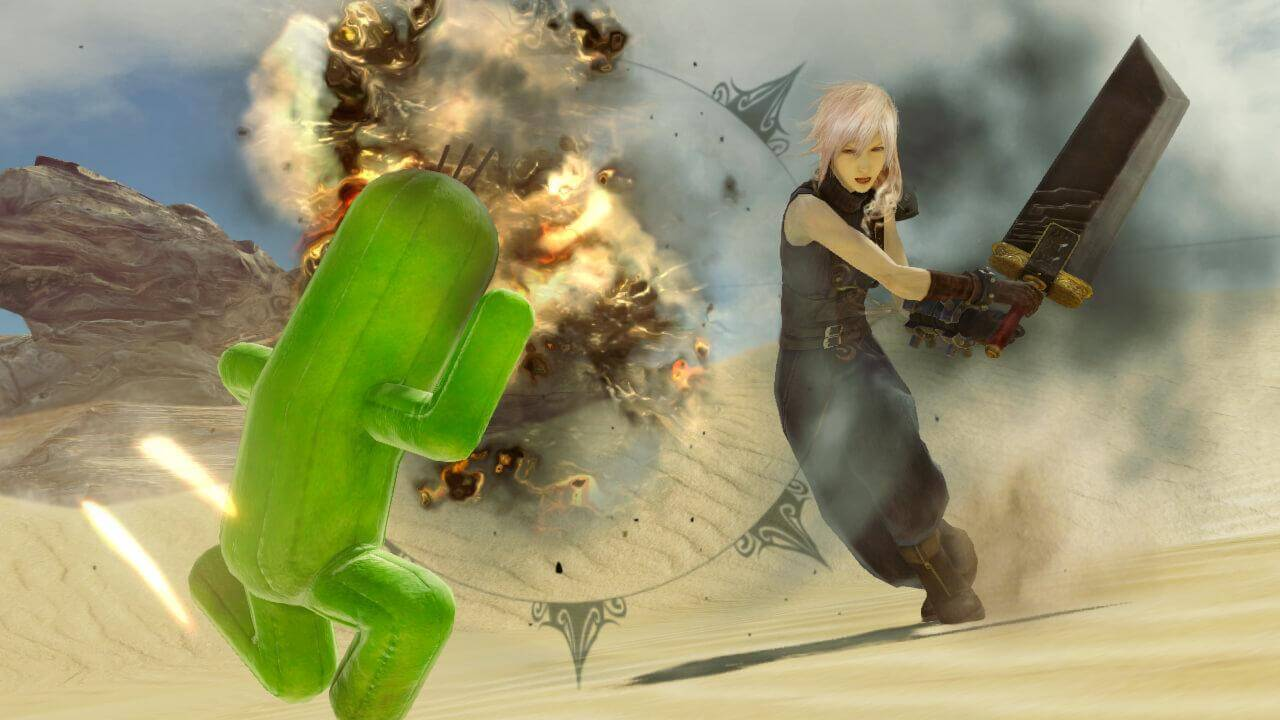Скриншот из игры LIGHTNING RETURNS: FINAL FANTASY XIII