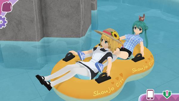 Скриншот из игры Shoujo City