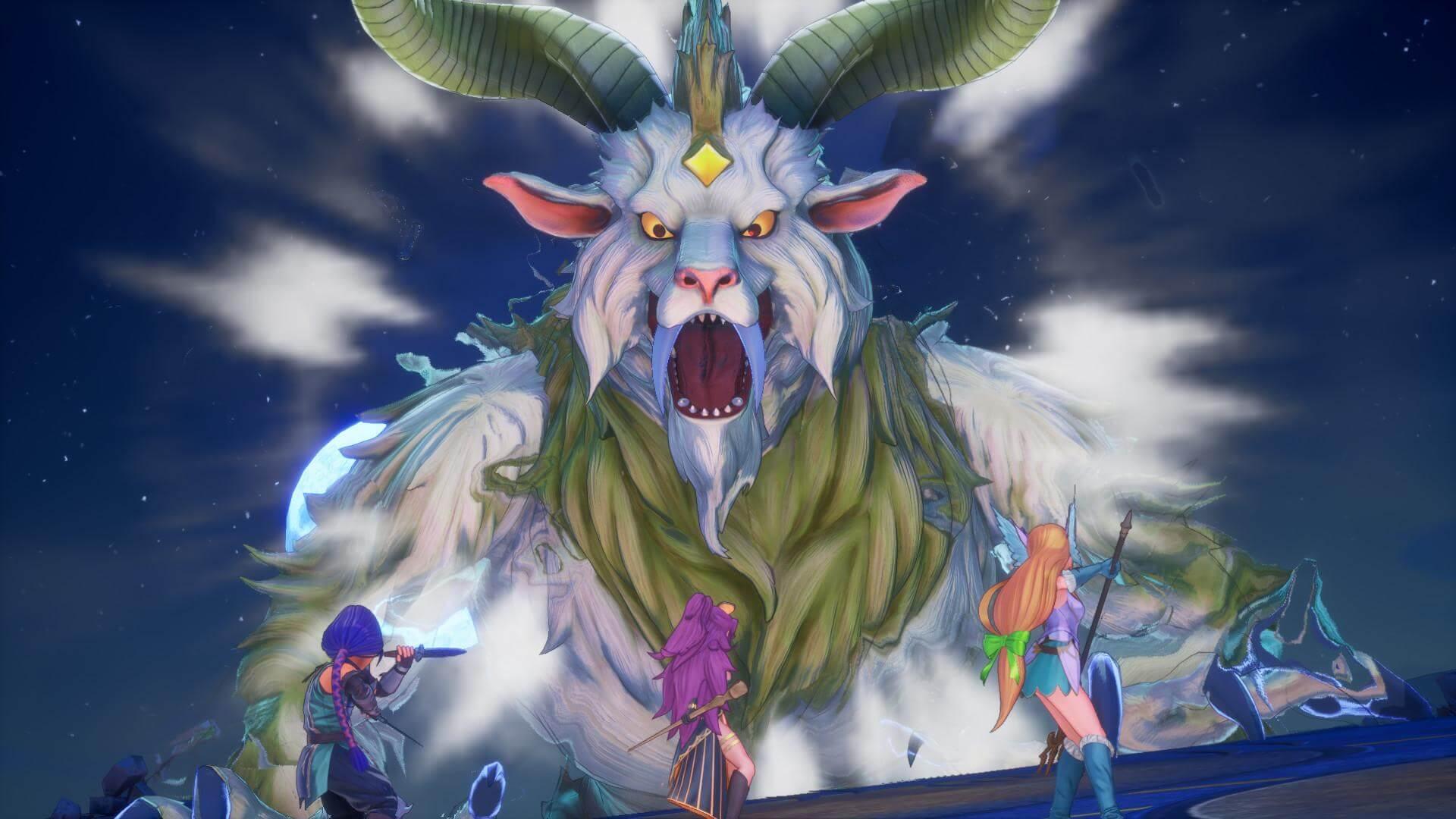 Скриншот из игры Trials of Mana
