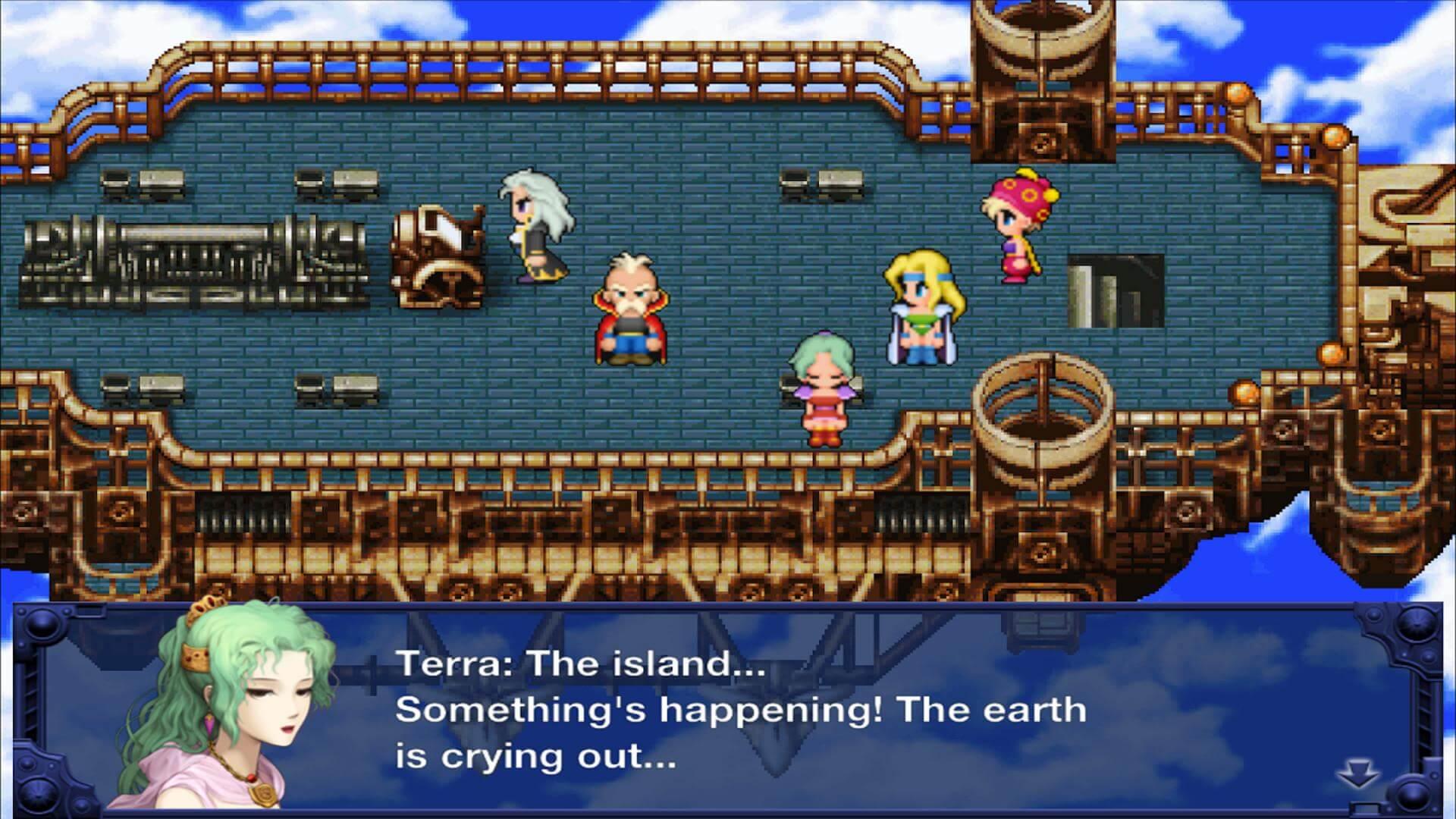 Скриншот из игры FINAL FANTASY VI