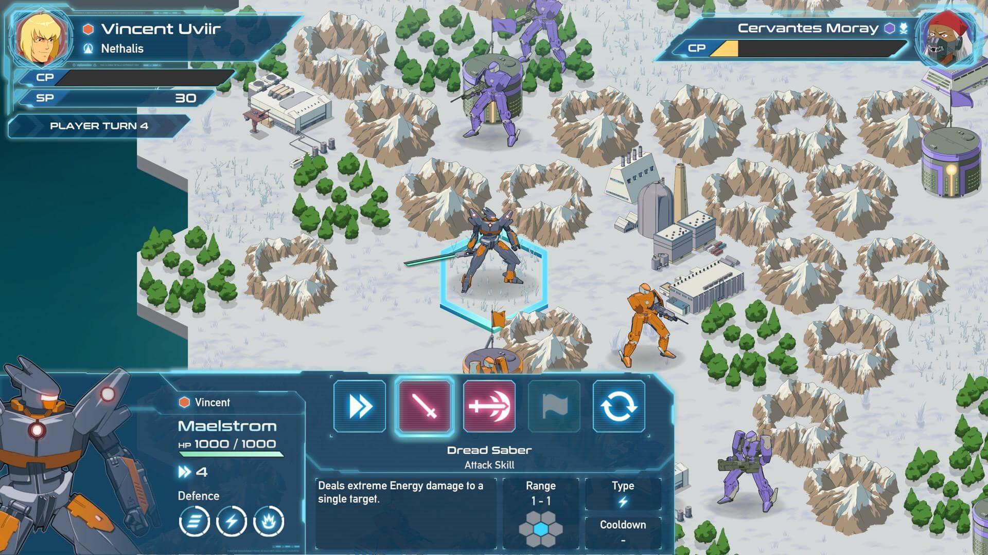 Скриншот из игры WARBORN