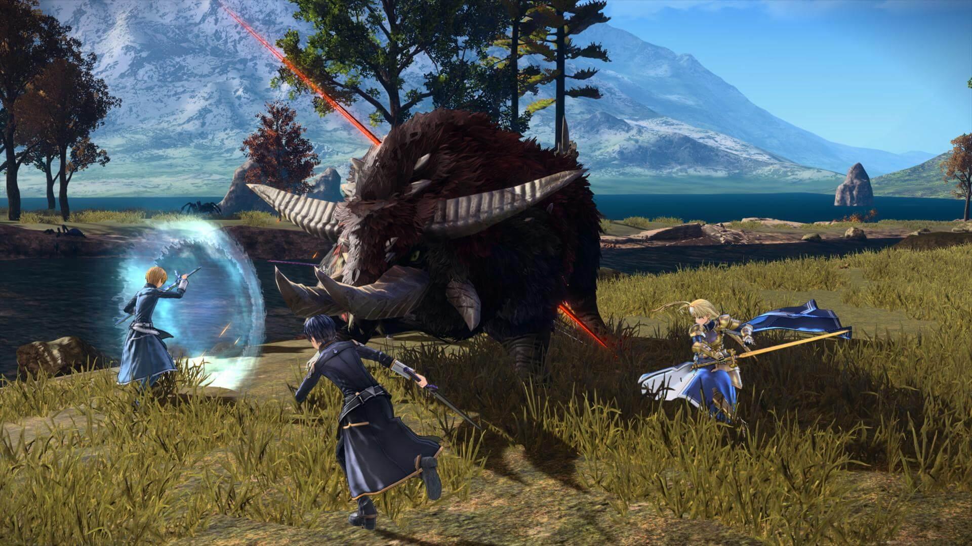 Скриншот из игры SWORD ART ONLINE Alicization Lycoris