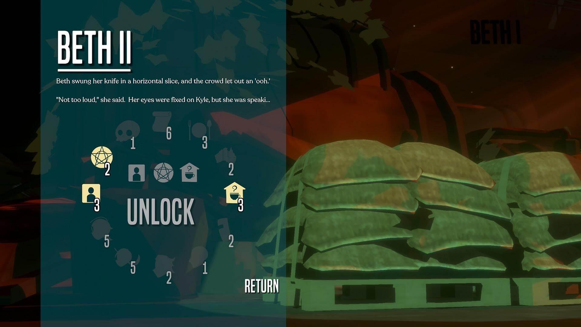 Скриншот из игры Necrobarista
