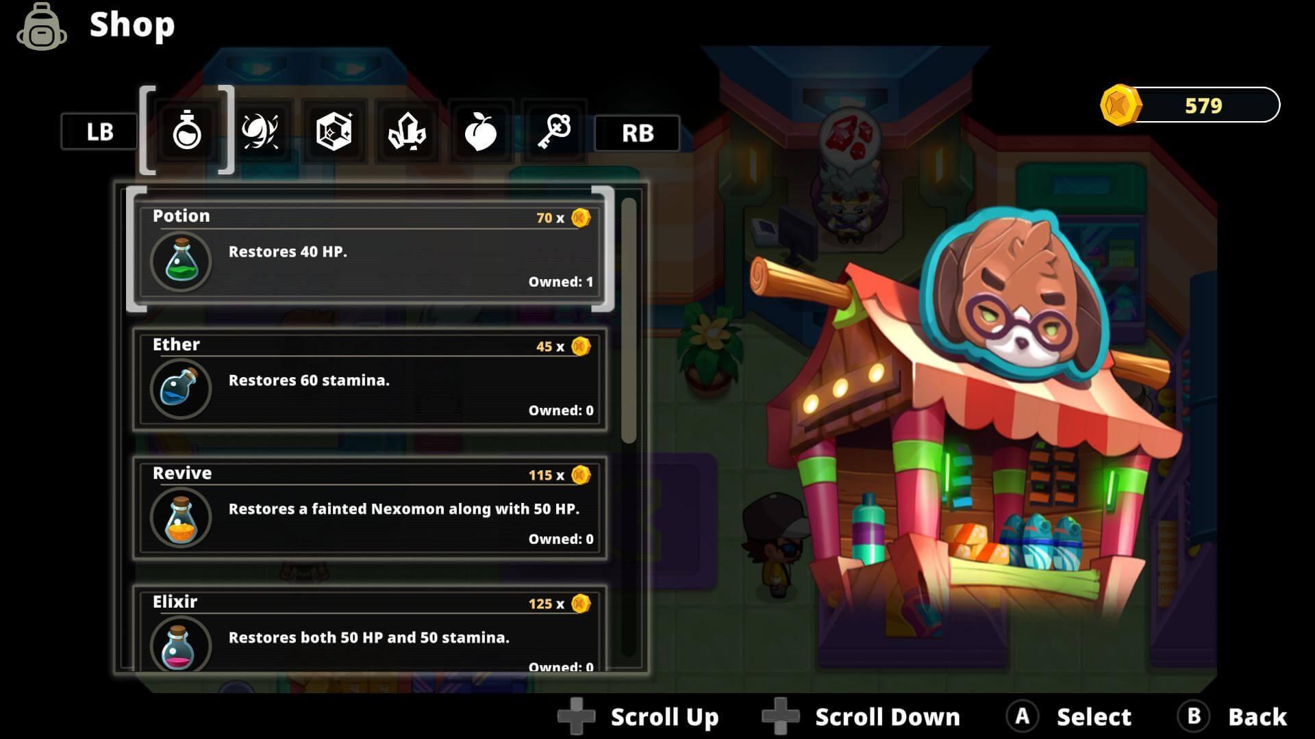 Скриншот из игры Nexomon: Extinction