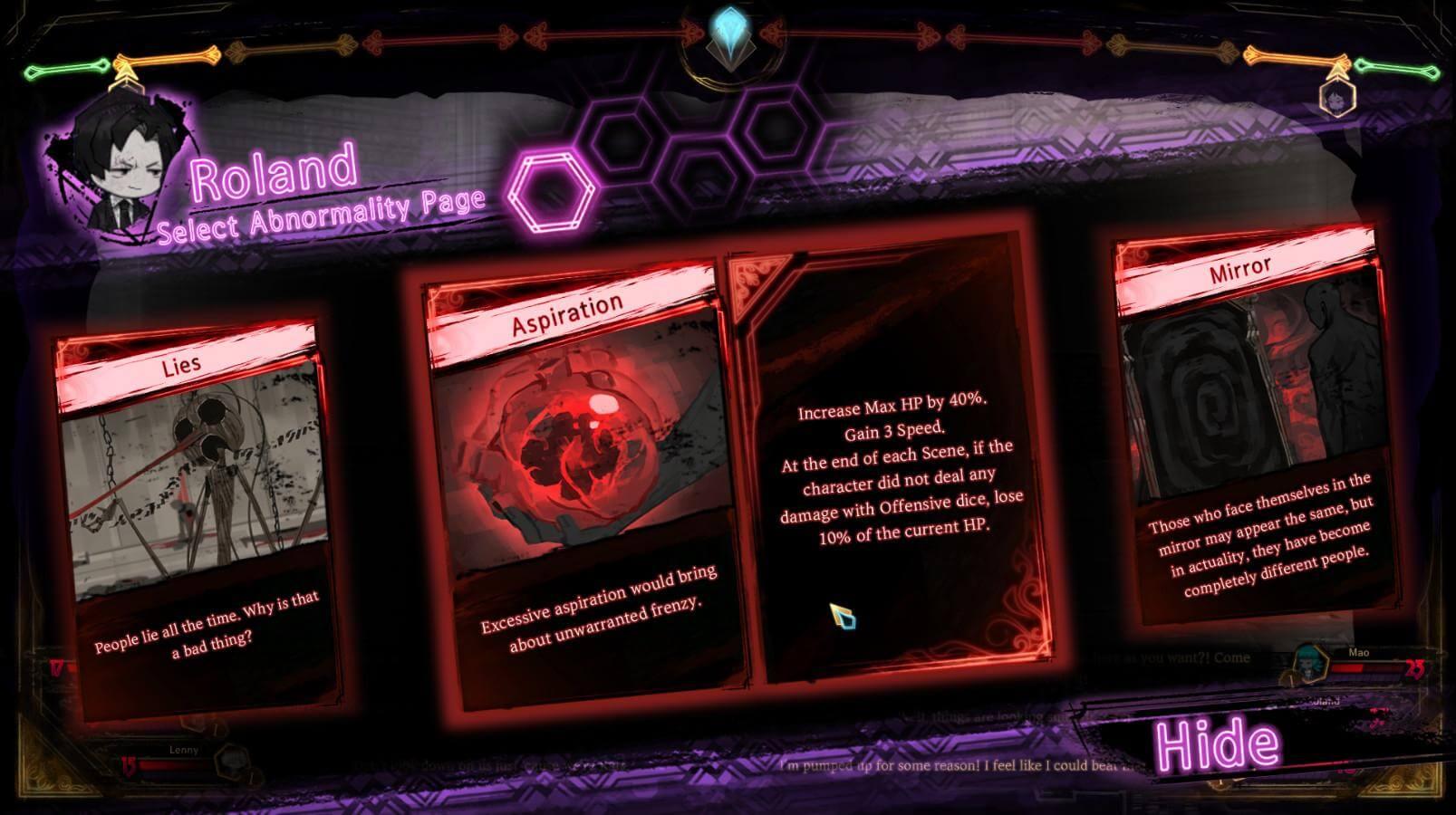 Скриншот из игры Library Of Ruina