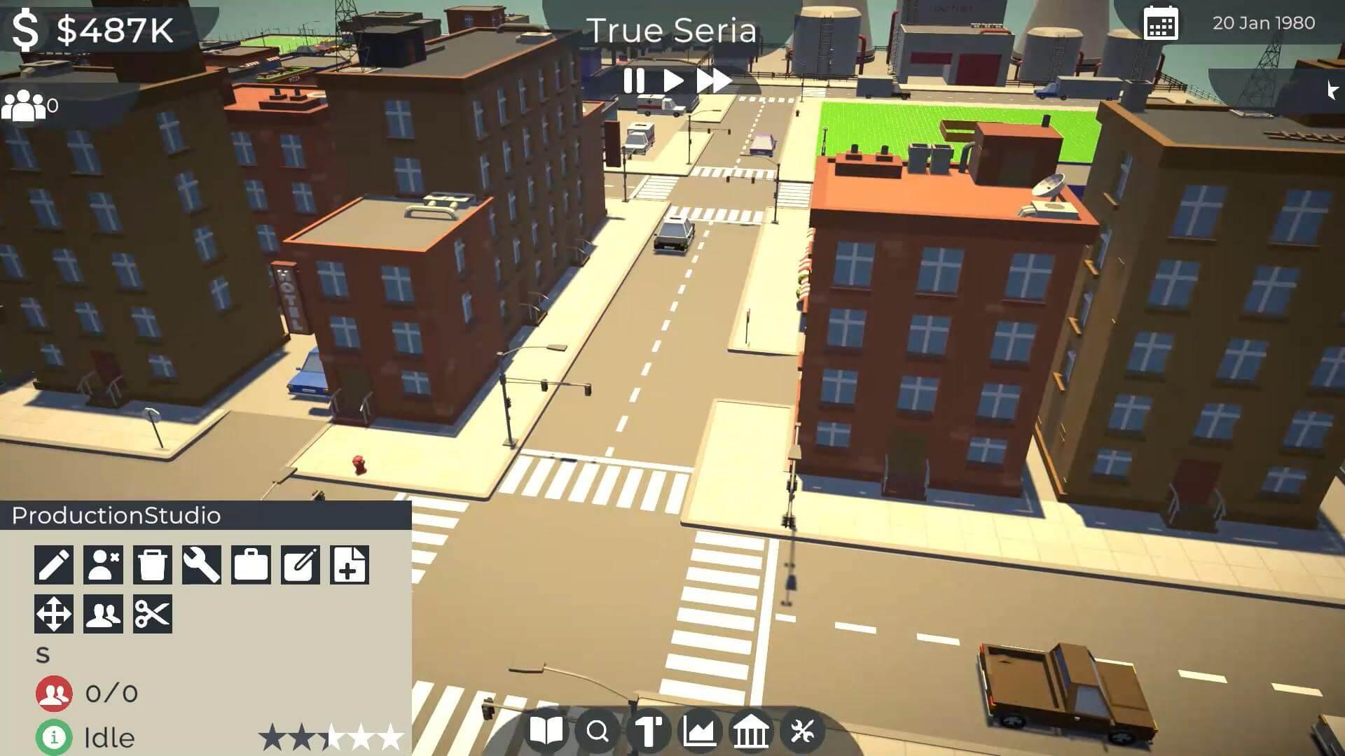 Скриншот из игры Anime Studio Tycoon