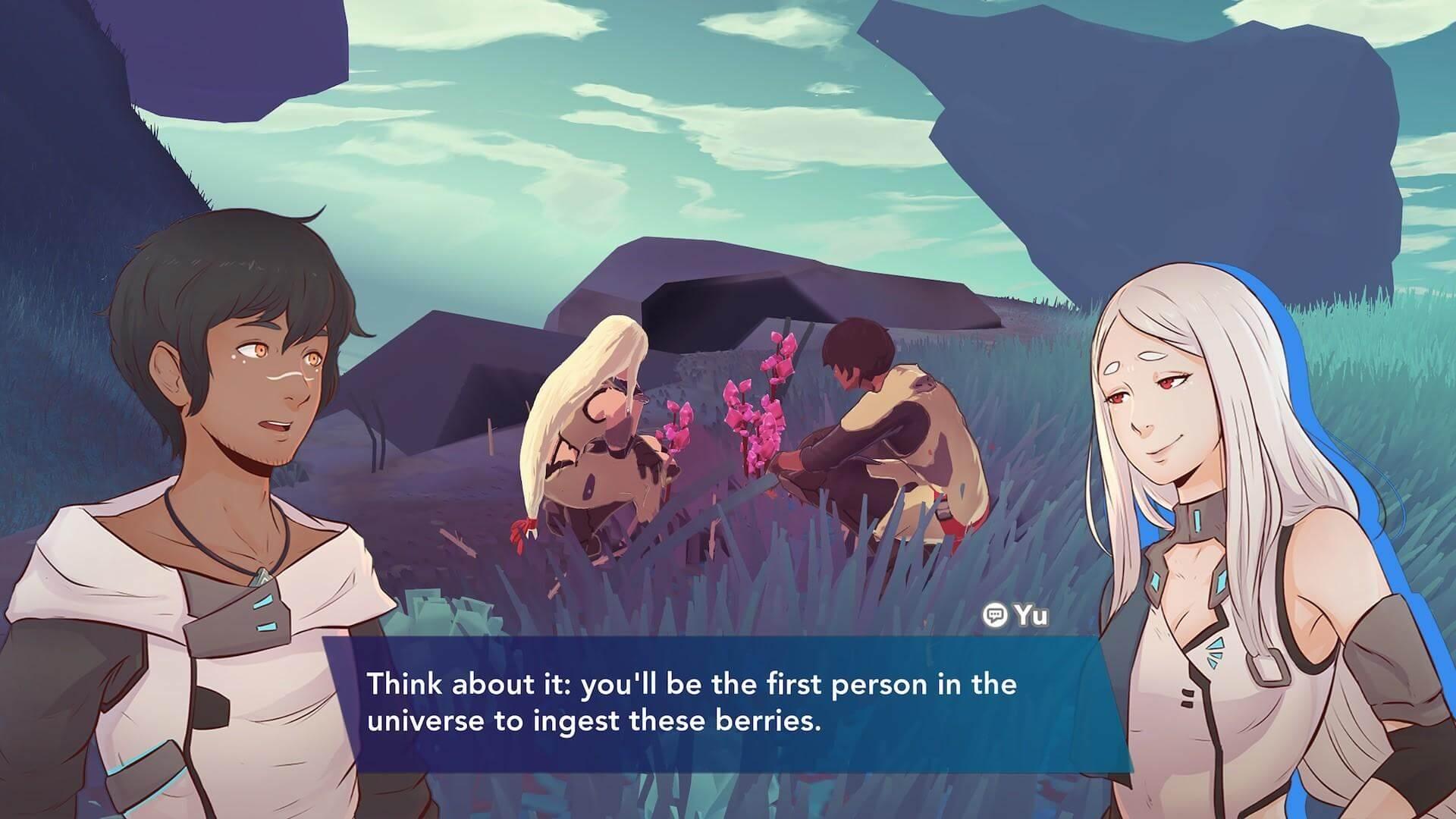 Скриншот из игры Haven