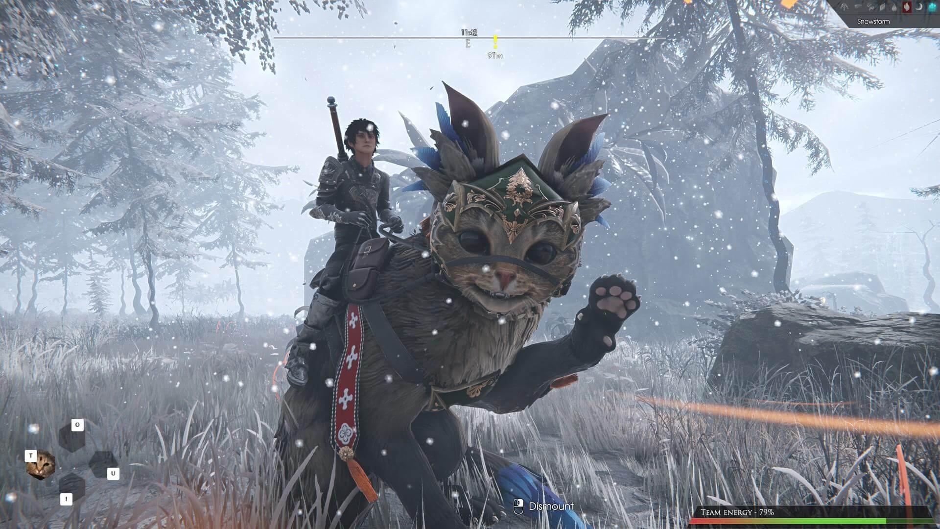 Скриншот из игры Edge Of Eternity
